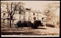AFS headquarters at 21 rue Raynouard, as seen from the garden