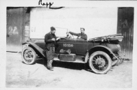 """Old Rapp"" with staff car"
