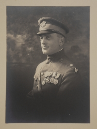 A. Piatt Andrew in uniform with medals