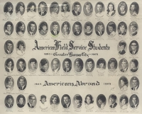 AFS Students and Americans Abroad 1964-1965 Greater Kansas City