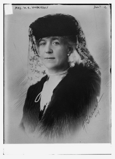 Anne Harriman Sands Rutherfurd, the wife of William Kissam Vanderbilt, ca. 1915.
