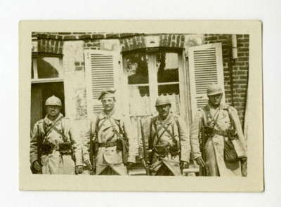 Members of the Polish Legion in the French Army.